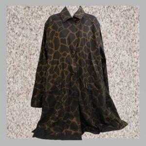 Mycra pac designer wear Cheeta coat